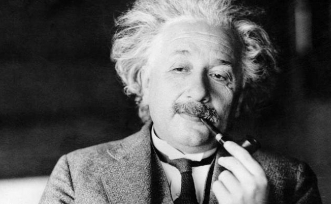 Ce fuma A. Einstein?