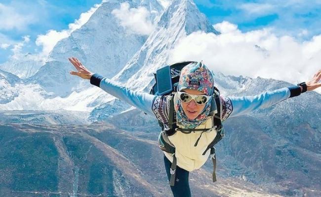 Prima romanca care a urcat pe varful Everest?