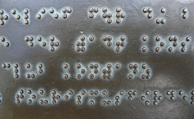 Originea alfabetului Braille?