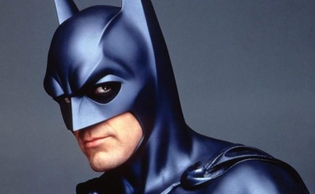 George Clooney in rolul lui Batman