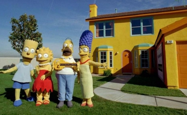 Concurs Pepsi si casa Simpsons