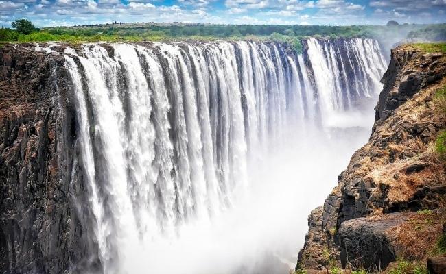 Cea mai mare cascada din Africa?