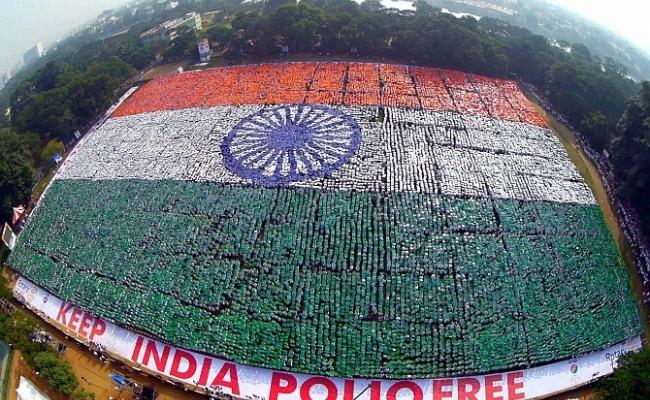 Cel mai mare drapel uman din lume?