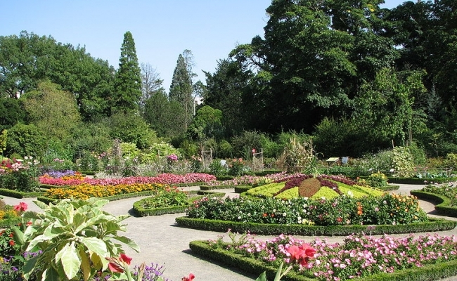 Parcul Tete dOr din Lyon