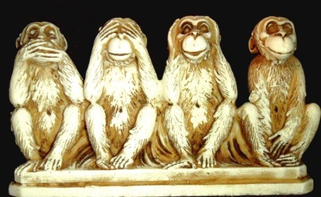 Cele patru maimute intelepte