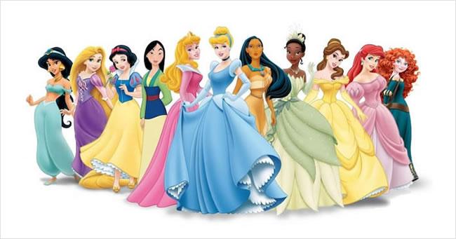 Poti sa numesti fiecare printesa Disney dupa poza?