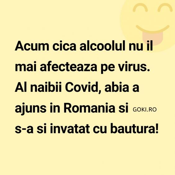 Alcoolul si Coronavirus