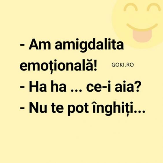 Amigdalita emotionala