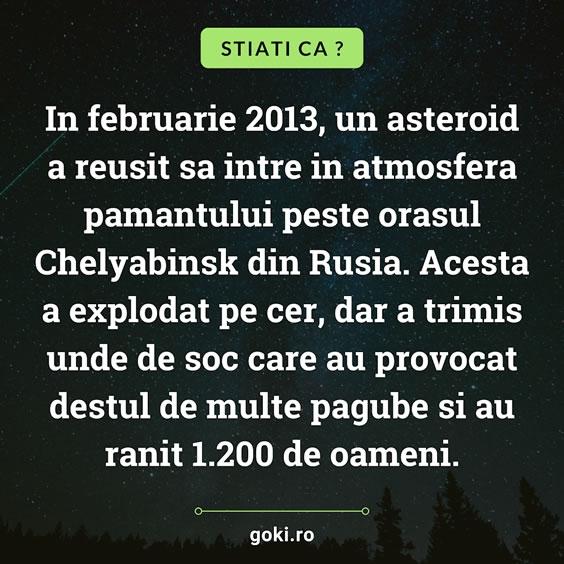 Asteroidul din 2013