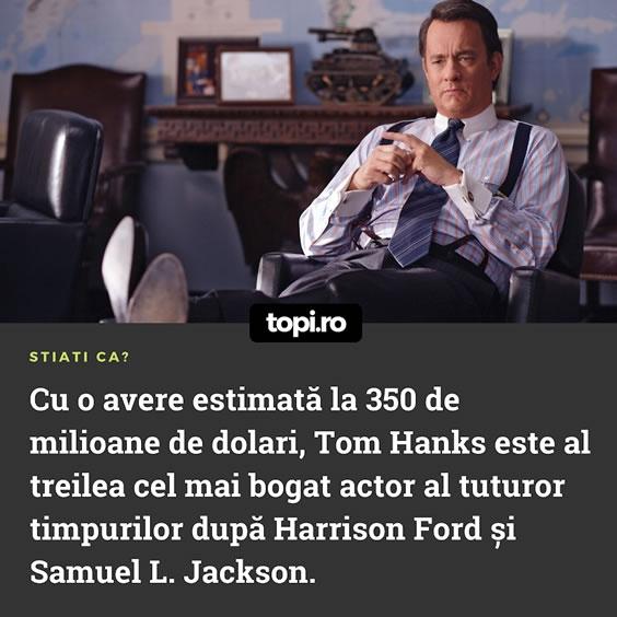 Averea lui Tom Hanks