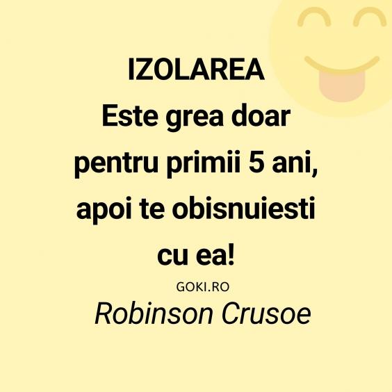 Izolarea de Crusoe