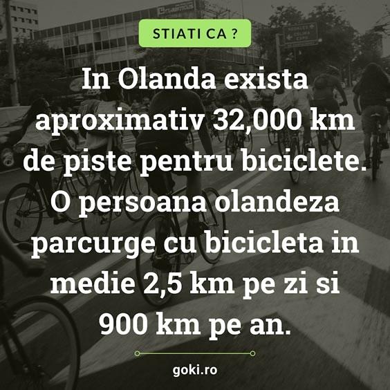 Stiati ca: Biciclete in Olanda